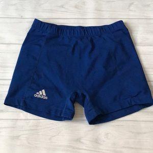 Adidas climate women's XLarge blue running shorts